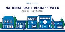 National Small Business Week graphic